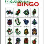 Christmas Bingo Card 2