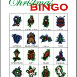 Christmas Bingo Card 5