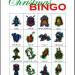 Christmas Bingo Card 6
