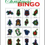 Christmas Bingo Card 7