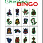 Christmas Bingo Card 8
