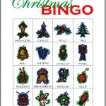 Christmas Bingo Card 9