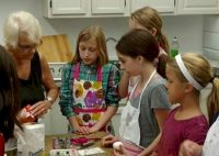 Cadette Troop 439 in Pine Bush NY earned their baking patch by making Italian cookies using a recipe from the past.