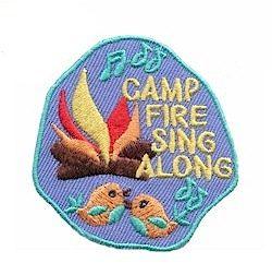 Campfire Sing Along Fun Patch