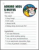 camping-recipe-banana-boat-smores
