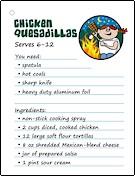 camping-recipe-chicken-quesadillas