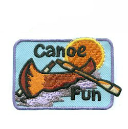 Scout Canoe Patch
