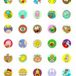 Bottle Cap Swaps Cartoon Printables