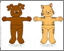 cat-dog-paper-doll-friends-wheelchair