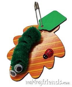 Caterpillar Girl Scout Friendship SWAP Kit via @gsleader411