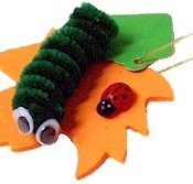 Girl Scout Caterpillar SWAP