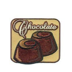 Choclate Girl Scout Patch