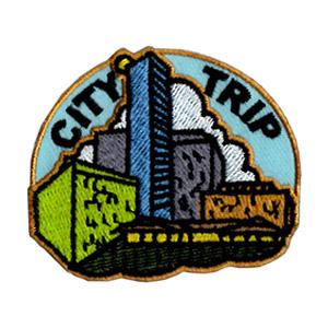 Girl Scout City Trip Fun Patch