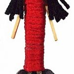 Spanish Clothespin Doll