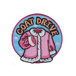 Girl Scout Coat Drive Patch