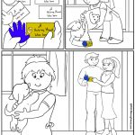Daisy Girl Scout Coloring Page | Friendly and Helpful