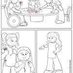 Daisy Girl Scout Coloring Page | Honest and Fair