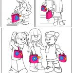 Daisy Girl Scout Coloring Page | Responsible for What I Say and Do