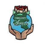 community-service-iron-on