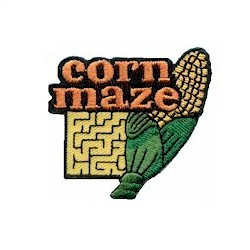Girl Scout Corn Maze Fun Patch