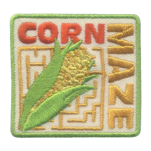 Corn Maze Girl Scout Patch