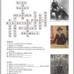 Answer Key for Juliette Low Crossword Puzzle
