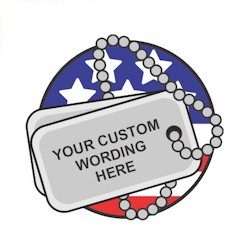 Custom Memorial Day Fun Patch