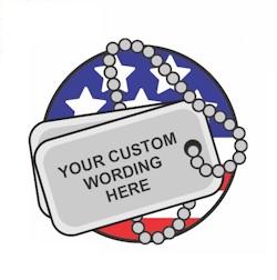 Custom Memorial Day Fun Patch