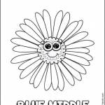 Daisy Petals Coloring Pages