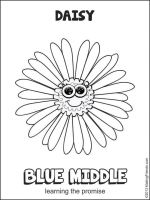 daisy girl scout flower friends coloring pages - daisy petals coloring pages makingfriendsmakingfriends
