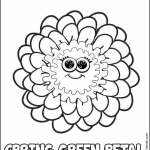 Girl Scout Daisy Spring Green Petal — Zinni the Zinnia