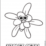 Girl Scout Daisy Violet Petal — Vi the Violet