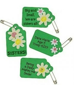 Girl Scout Daisy Be a Sister Petal