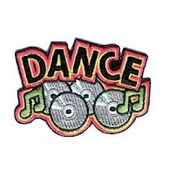 Girl Scout Dance Fun Patch