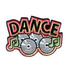 Girl Scout Dance Fun Patch