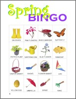 photo about Spring Bingo Game Printable titled Spring Bingo - MakingFriends
