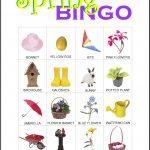 Spring Bingo Card 10