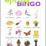 Spring Bingo Card 11