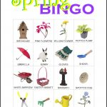 Spring Bingo Card 12