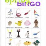 Spring Bingo Card 2
