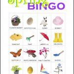 Spring Bingo Card 3
