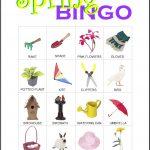 Spring Bingo Card 4