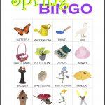 Spring Bingo Card 5