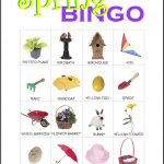 Spring Bingo Card 6