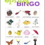 Spring Bingo Card 7
