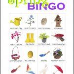 Spring Bingo Card 8