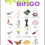 Spring Bingo Card 9