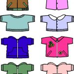 Fall Paper Doll Friends colored shirts