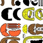 Hair for Paper Doll Friends in color