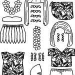 Pacific Island Paper Doll Friends